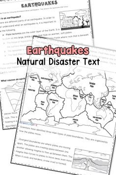 Earthquakes Paired Texts: Writing Informational