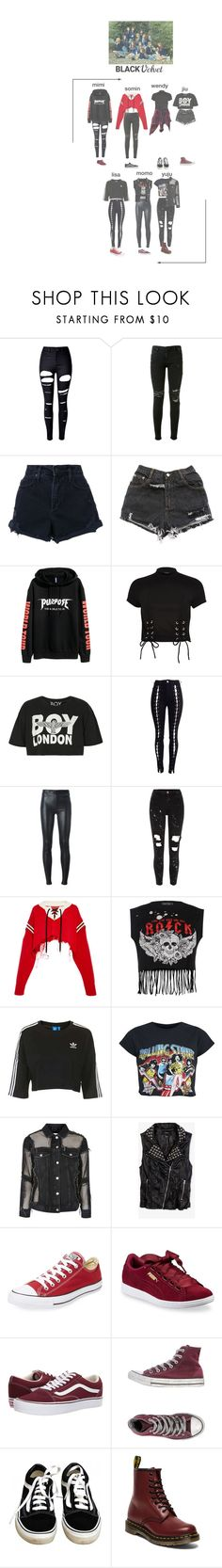 """""""(1/2) BlackVelvet Mercury Entertaintment audition."""" by blackvelvetofficial ❤ liked on Polyvore featuring WithChic, RtA, Nobody Denim, H&M, River Island, BOY London, Helmut Lang, Monse, Boohoo and Topshop"""