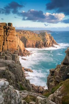 Lands End Cliffs, Cornwall