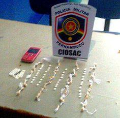 CIOSAC faz apreensão de 50 pedras de crack em Serra Talhada – CIOSAC/ S1Ntícias
