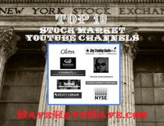 You made the list! Top 10 Stock Market YouTube Channels #nyse