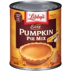 LIBBY'S Easy Pumpkin Pie Mix 30 oz. Can