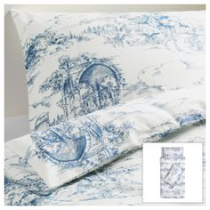 EMMIE LAND Quilt cover and 2 pillowcases - 150x200/50x80 cm - IKEA