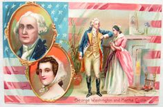 Antique Signed Raphael Tuck Washingtons Birthday Series 124 Patriotic Postcard | eBay