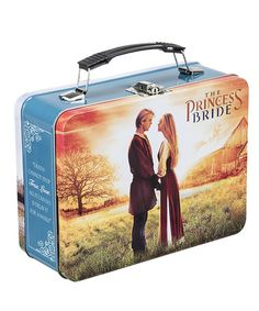 Look at this The Princess Bride Metal Lunch Box Vintage Lunch Boxes, Cool Lunch Boxes, Metal Lunch Box, Princess Bride Movie, School Lunch Box, Kids Growing Up, Retro Pop, Rock Collection, Food Storage Containers