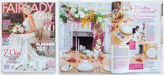 Fairlady Bridal 2015/16 – Modern en minimalistiese gestileerde fotosessie | Mooi Troues