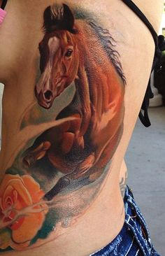 Horse tattoo - 50  Awesome Animal Tattoo Designs  <3 <3