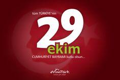 tüm TÜRKİYE'nin 29 EKİM CUMHURİYET BAYRAMI kutlu olsun... http://evimpark.com.tr/