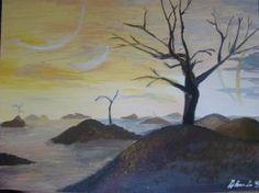 "Saatchi Art Artist bratu mihaela; Painting, ""Day on a star"" #art"