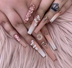 Nagelideen Lawn Care Maintenance For Mere Mortals Article Body: Though everyone likes to see their l Bling Acrylic Nails, Aycrlic Nails, Summer Acrylic Nails, Glam Nails, Best Acrylic Nails, Bling Nails, Acrylic Nail Designs, Stiletto Nails, Bling Nail Art