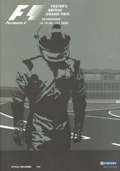 British Grand Prix 2003 programme