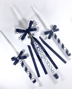 A personal favorite from my Etsy shop https://www.etsy.com/listing/191056701/navy-greek-christening-baptism-candles