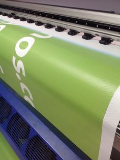 Imprimiendo lona mesh #kreativ #solucionescreativas