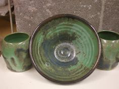The University of Montana Clay and Glaze: Josh's Cone 10 Satin Blue-Green