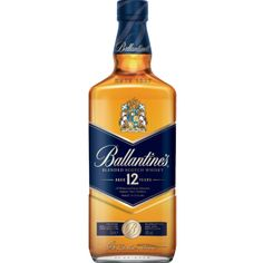 BALLANTINES 12 YEAR BLENDED SCOTCH WHISKEY (750 ML)