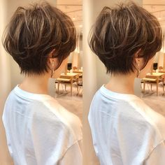 Pin on Diy Best Garden Deco Short Grey Hair, Girl Short Hair, Short Hair Cuts, Hair Inspo, Hair Inspiration, Medium Hair Styles, Short Hair Styles, Love Hair, Hair Dos