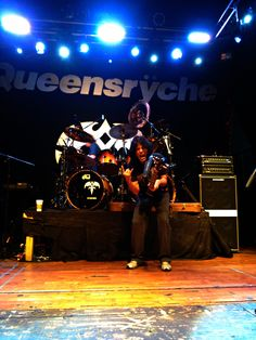 Queensryche-Was sending a text, and I asked Rudy Sarzo to say Hi to his buddy Jules Radino...