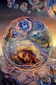 **Peaceful dreams by Josephine Wall