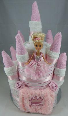 Castle Creative Nappy Cake