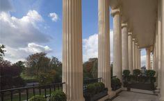 Savills   Cumberland Terrace, Regent's Park, London, NW1 4HP   Property for sale London Mansion, Carlton House, Parking Design, Country Estate, Property For Rent, Neoclassical, Exterior Design, Terrace, Buildings