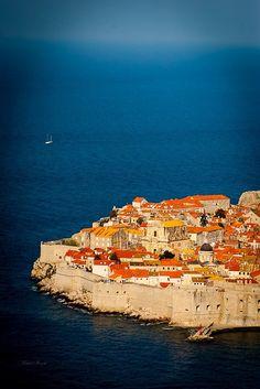 Pearl of Adriatic, Dubrovnik old town, Croatia