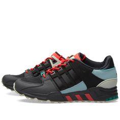 more photos dd41a e08f2 Adidas EQT Support 93 (Black, Green Earth  Carbon)