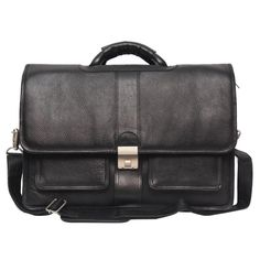 Comfort 15 inch Pure Leather Laptop Bag for men and women & unisex EL10