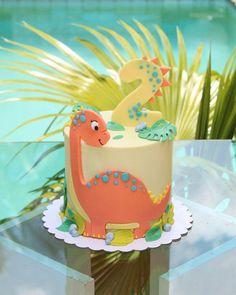 Dinosaur Birthday Cakes, Baby Boy 1st Birthday Party, 4th Birthday Cakes, Dinosaur Cake, Dino Cake, Themed Cakes, Group, Girl Dinosaur Birthday, Dinosaur Birthday Party