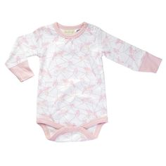 Sapling Child Girls Dusty Pink Long Sleeve Bodysuit 100% Organic Cotton Babywear Baby & Toddler Clothing Clothing, Shoes & Accessories