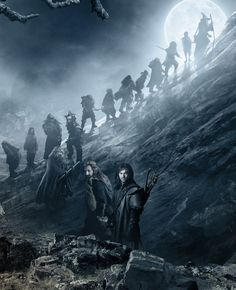 Fili...? Kili...? Why are you guys lagging behind? Do you realize how angry Thorin will be?