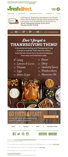 Discover 31 ways to design your Thanksgiving email templates and Thanksgiving Email subject Lines that will help you stand out from the competition. Thanksgiving Traditions, Thanksgiving Recipes, Holiday Emails, Email Templates, Catering, Email Marketing, Catering Business, Food Court