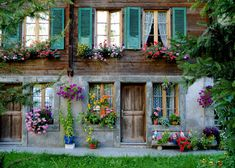 adorable - I would love a rustic country house on a European hill somewhere