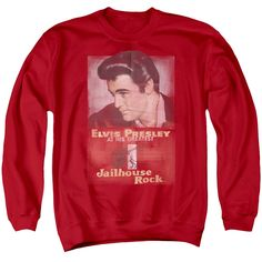"Checkout our #LicensedGear products FREE SHIPPING + 10% OFF Coupon Code ""Official"" Elvis / Jailhouse Rock Poster - Adult Crewneck Sweatshirt - Elvis / Jailhouse Rock Poster - Adult Crewneck Sweatshirt - Price: $39.99. Buy now at https://officiallylicensedgear.com/elvis-jailhouse-rock-poster-adult-crewneck-sweatshirt"