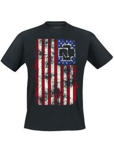 Camiseta , T-shirts Amerika por Rammstein $24.99 € en EMP... la mayor tienda online de Europa de Merchandising oficial de bandas de Metal, Hard Rock , Heavy, Ropa Gótica , Punk y todo lo que te hace falta para vivir el Rockstyle en toda su dimensión. EMP Rock Mailorder España