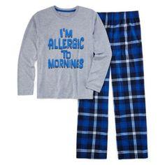 Arizona Allergic to Mornings Pajama Set - Boys 4-20  found at @JCPenney