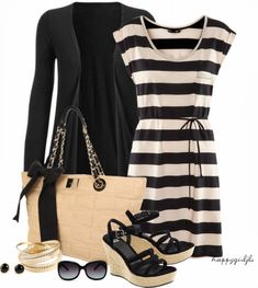 Get Inspired by Fashion: Casual Outfits | Casual in Black White