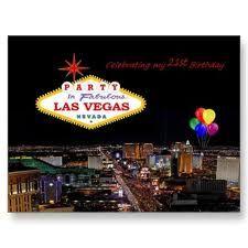 Shop Celebrating My Birthday Party Las Vegas Card Created By Vegasdusoleil