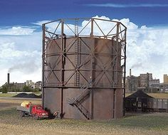 Walthers HO 933-2907 Gas Storage Tank Kit