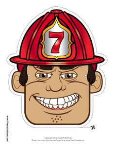 Stupendous 473 Best Fireman Printables Images Cut Outs Firefighter Download Free Architecture Designs Scobabritishbridgeorg
