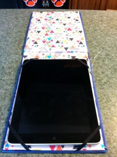 How to make  iPad Case - Recycled Books - DIY Craft Project with instructions from Craftbits.com
