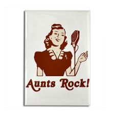 I've had some of the best Aunts but I only have one Aunt left and she's not doing too well.