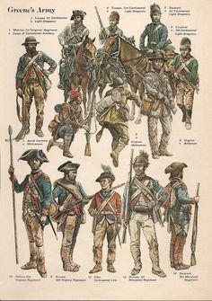 MINIATURAS MILITARES POR ALFONS CÀNOVAS: INDEPENDENCIA AMERICANA, = La Batalla de Guilford Courthouse, 1781