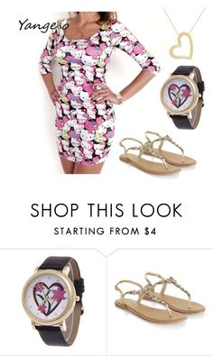 """""""Untitled #20"""" by frank-caveryn ❤ liked on Polyvore featuring Hello Kitty and Accessorize"""