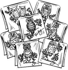 Hooty Owls - Iron On Transfers