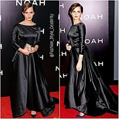 #EmmaWatson Is the #Epitome of #Elegance at 'Noah'NY #PremiereShe looks #stunning while hitting the #redcarpet at the premiere of her #new #movie #Noah held at the #ZiegfeldTheater on Wednesday evening (March 26) in #NewYorkCity.Emma is wearing an #OscardelaRenta #dress, #ChristianLouboutin #shoes, a #RogerVivier #bag, an #AnaKhouri #earring on her left ear and a #GinetteNY earring on her right ear, #JenniferFisher hair #jewels, an #AurelieBidermann #cuff, and #rings by #JenniferMeyer and…