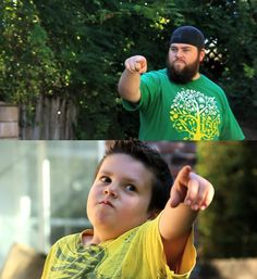 Like father, like son- Sontard and his daddy Shay Carl from Epic War