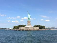 En route to the Statue of Liberty