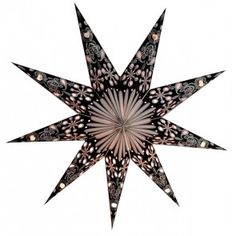 Julstjärna Sitara Black