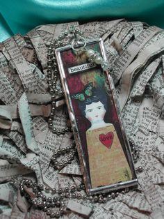 from donnagoss Soldered Art Doll pendant