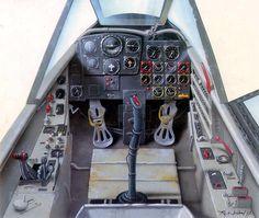 Кабина пилота Bf-262A